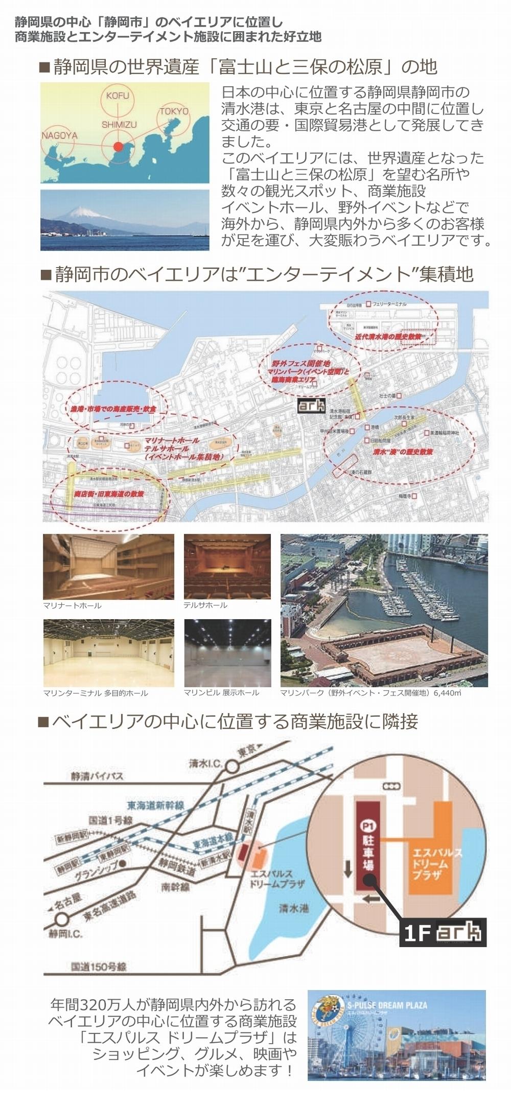 静岡サウンドシャワーアークのロケーション